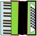 green accordion